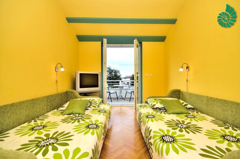 Grüne Studio-Ferienwohnung